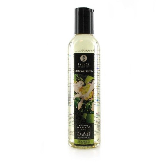 Organiczny olejek do masażu Shunga Massage Oil Organica Erotic Green Tea