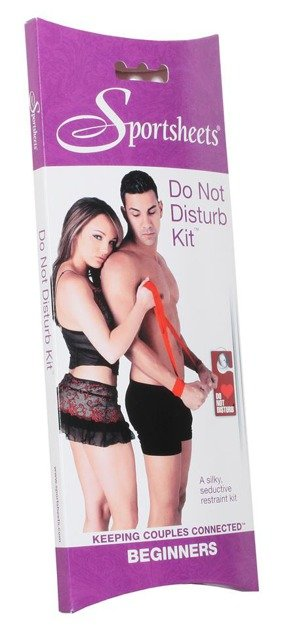 Szarfy do wiązania S&M Do Not Disturb Kit
